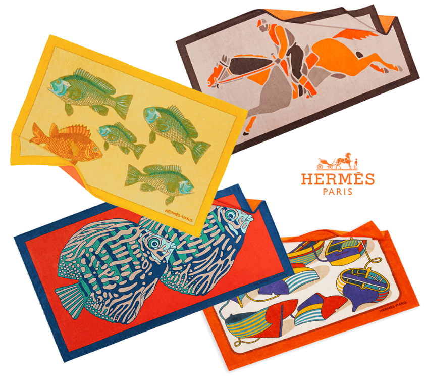Hermes Towels